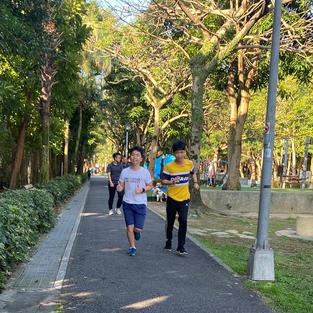 舞動陽光 玉成公園 步道