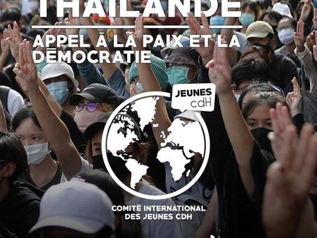 FÜR DEMOKRATIE & FRIEDEN IN THAILAND