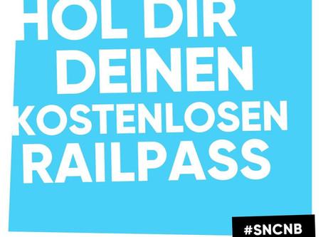 Hol dir deinen kostenlosen Railpass!