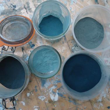 Pigments Bleu Maya