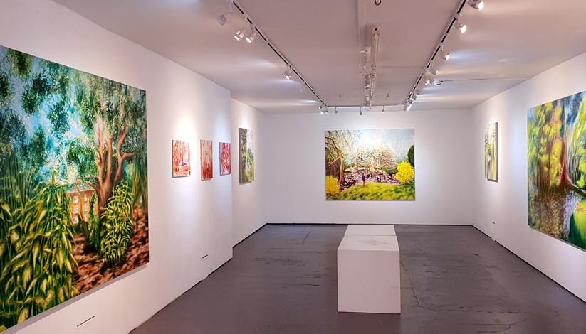 Diana Krilova October 2018 at 5th Base Gallery