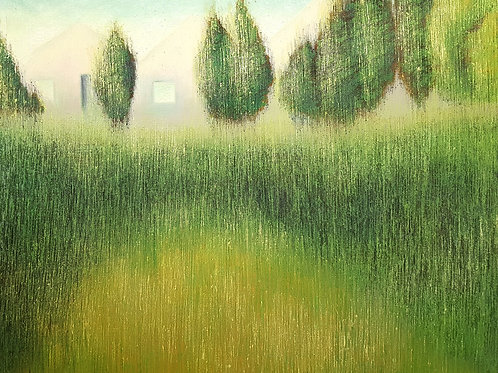 Sticky Grass Green