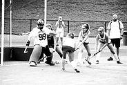 Bethel field hockey goalie Sophie Morris