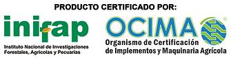 Producto certificado Inifap-Ocimia