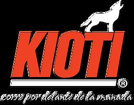 Logo KIOTI blanco y naranja eslogan-2.pn