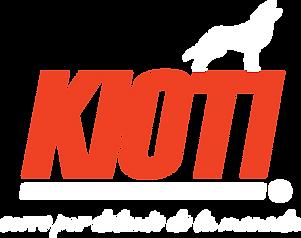 Logo KIOTI blanco y naranja eslogan.png