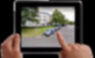 Google Street-View in der Immobilien-Marketing App für iOS und Android App - aPPosee