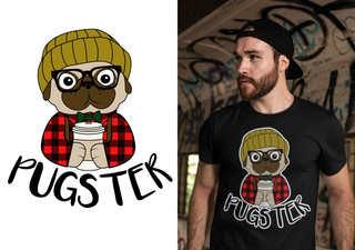 Pugster - Pug Doggy Dog
