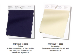 Pantone colours for Spring Summer 2019