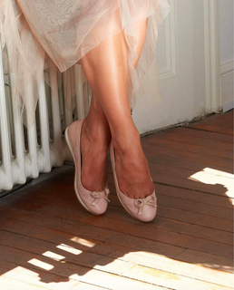 Sloafer blush ballerina