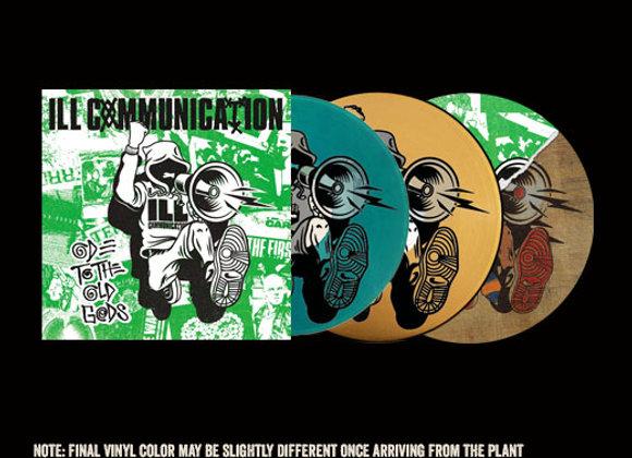 "Ill Communication Ode/Def Threats 12"" vinyl"