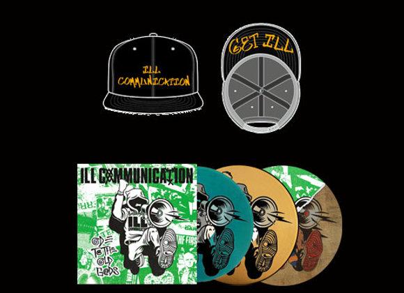 Ill Communication hat/vinyl bundle