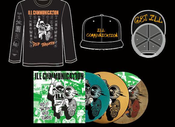 Ill Communication hat/shirt/record bundle