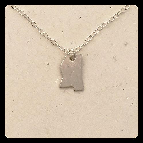 Mississippi State Pride Necklace