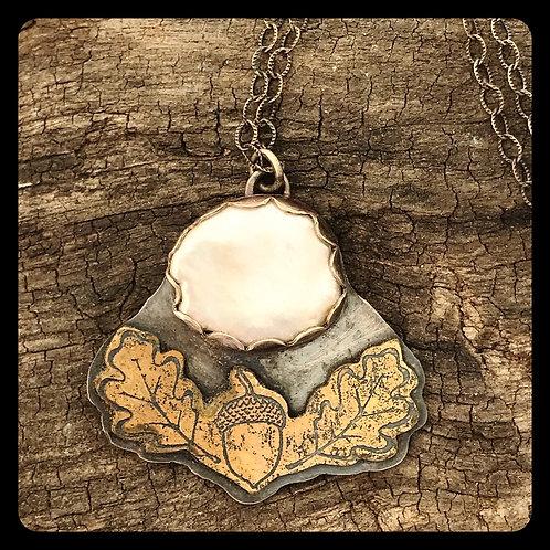 Autumn Moon pendant