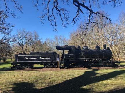 Avery Park play train