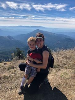 Kim & Brody on Marys Peak