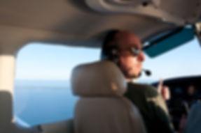 I. Cem Onur; the student pilot.