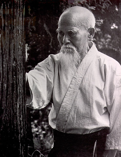 O Sensei, Morihei Ueshiba. Founder of AikiDo