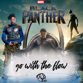 """DJ RL """"The Blend King"""" Go With The Flow-Black Panther Edition"""