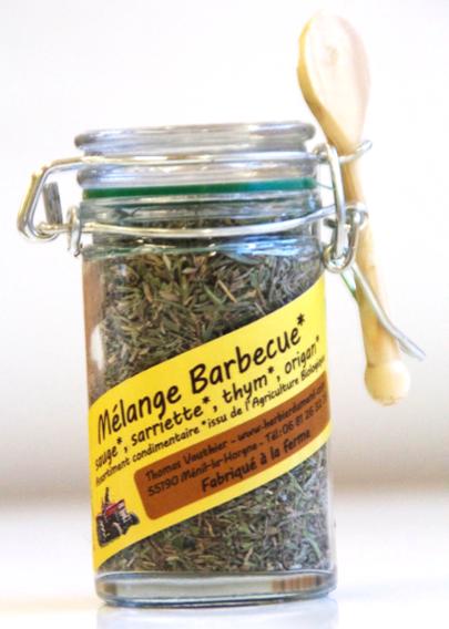 Mélange pour Barbecue (mini bocal de 20gr.)
