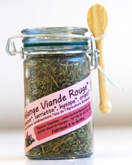 Mélange pour Viandes Rouges (mini bocal de 20 gr.)
