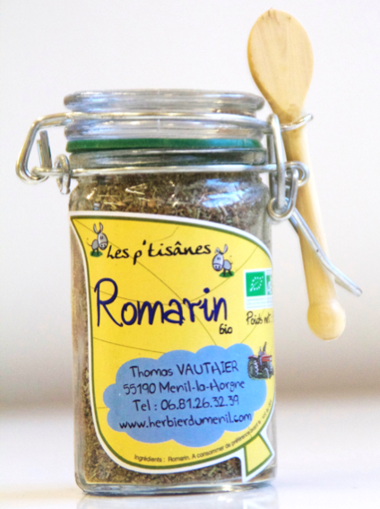 Romarin (mini bocal de 18 gr.)
