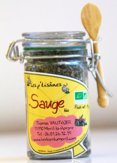 Sauge (mini bocal de 18 gr.)