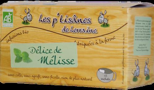 Délice de Mélisse   Poids net: 12g
