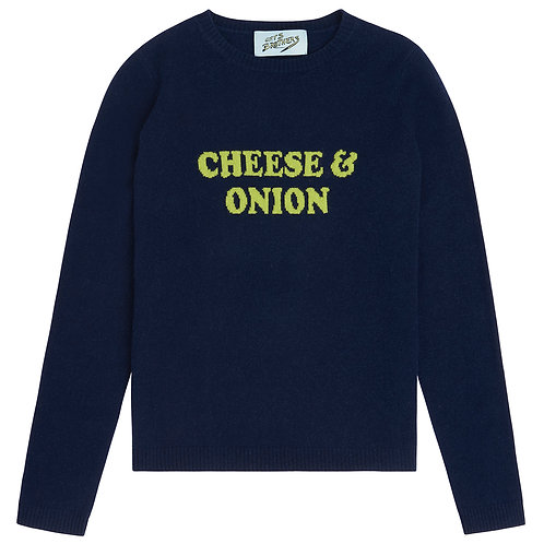 Cheese & Onion Cashmere Sweater