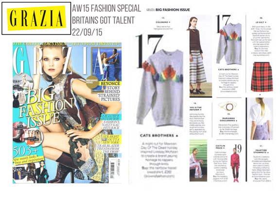 Grazia Name Cats Brothers a designer to watch