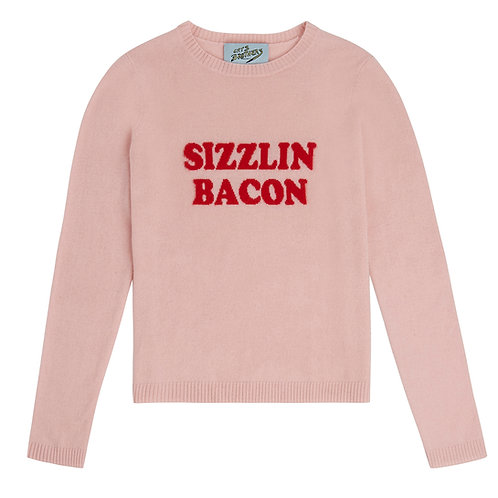 Sizzlin' Bacon Cashmere Sweater