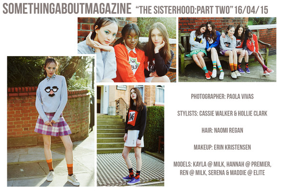 Something About Magazine  The Sisterhood:Part 2 (the gals get sporty)