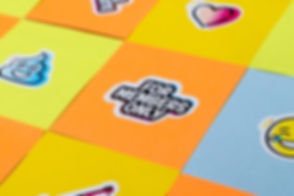 Creative Clues stickers post-its