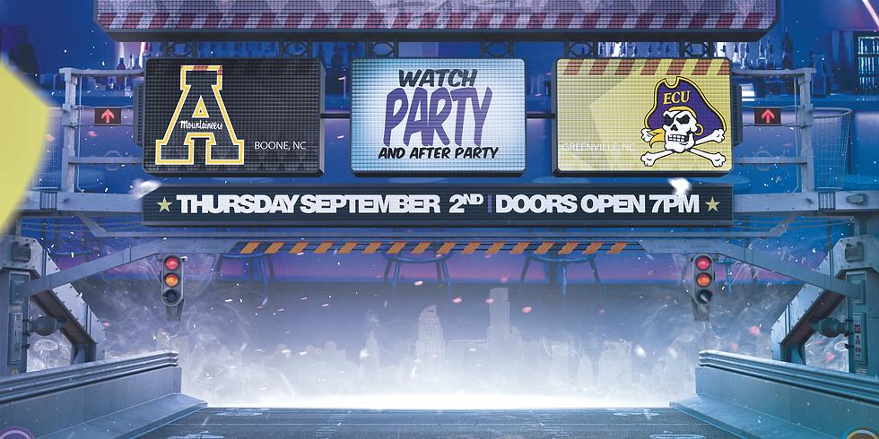 College Night ECU/APP St Game Watch Party