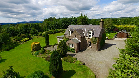 Drone Aerial Photography Auchterarder Dunblane Professional property Photography Crawford Digital Media Property Photographer