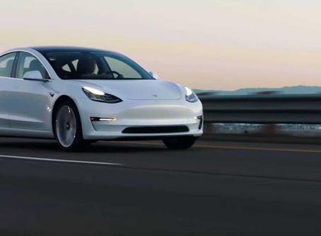 Em Março, o Tesla Model 3 foi o segundo carro mais vendido em Portugal!