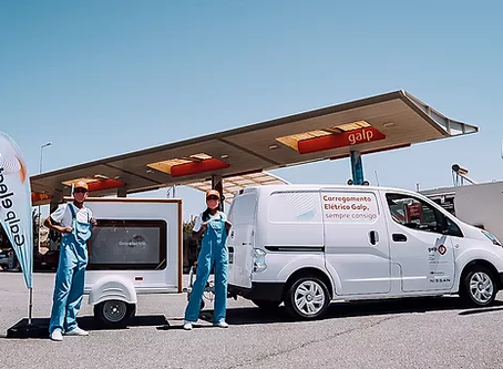 Nissan, Galp e AddVolt testam carregamento móvel nas praias do Algarve