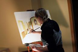 wedding painting - Leanne