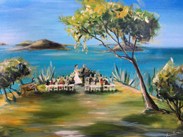 USVI - Canel Bay Resort Ocean view Ceremony