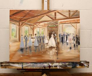 Painting 2 Golf Club Wedding - Minneapolis MN