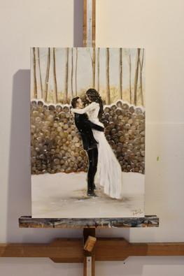 Taylor & Devon - Original Oil Painting f