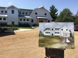 Painting 1 Gathered Oaks. - Alexandria MN