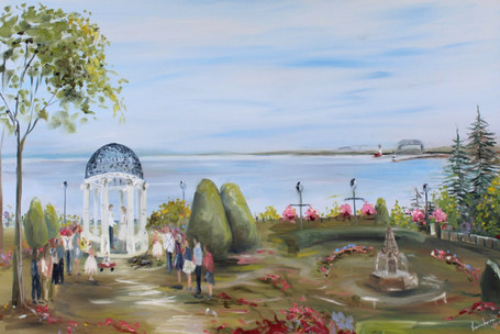 Duluth Rose Gardens   - Duluth MN Elopement Wedding