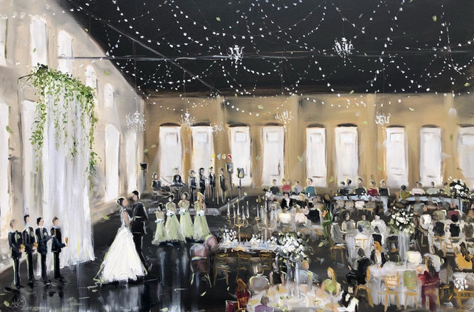 Molly & Jake - NP Space - Live Wedding P