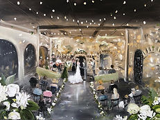 Live Wedding Painters, Live painting, Live Artist, Wedding Artist , Paint my Wedding day, minnesota wedding, live art, Leanne Larson, wedding painter, event artist,