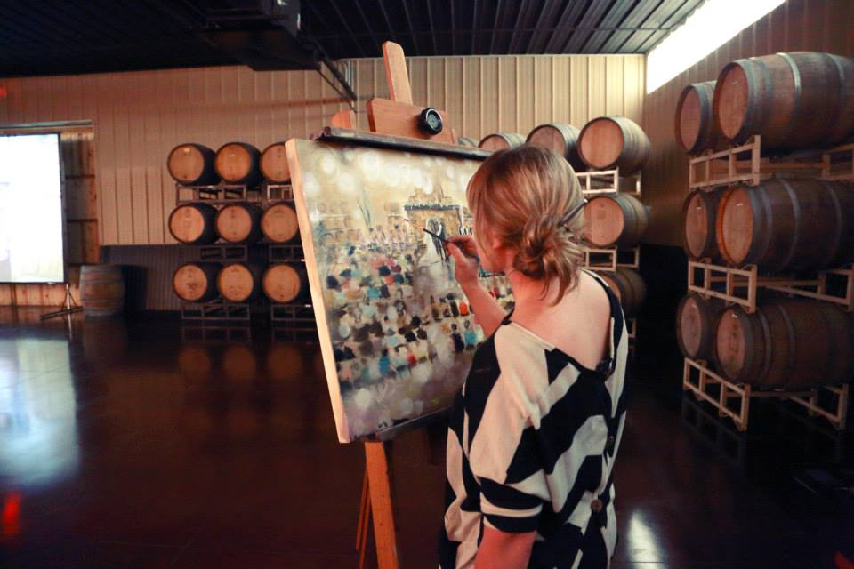 Leanne Larson - Wedding Painter
