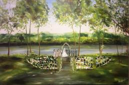 Leopold Gardens, Mississippi River, Minneapolis MN