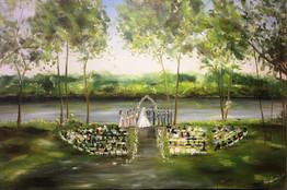 Mississippi River Leopold Gardens - MInneapolis