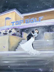 Raeann & Robbie top golf.JPG